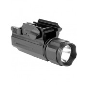 220 Lumens LED Flashlight W/Quick Release Mount