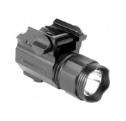 220 Lumens LED Sub Compact Flashlight W/Quick Release Mount