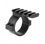 PICATINNY BASE 34MM SCOPE ADAPTOR/ADJUSTABLE