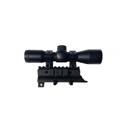 4x30 Compact Scope with SKS Mount