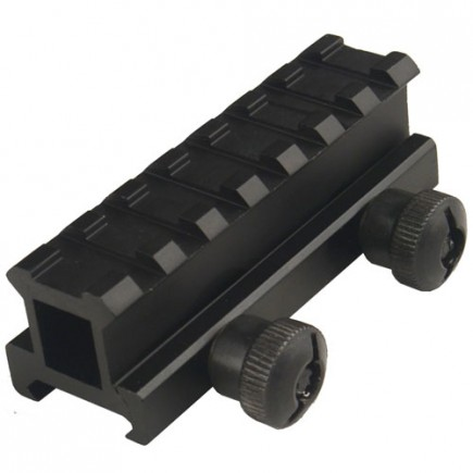 "1.1"" High 5 Slot Hi-Profile Riser Mount"