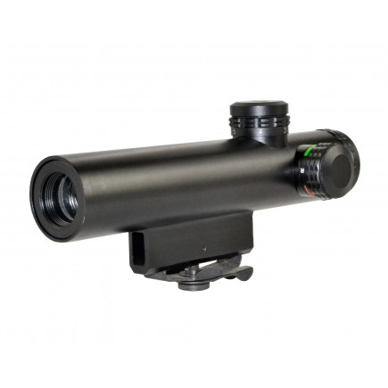 4X20MM Compact Rifle Scope with Illuminated Red/Green Duplex Reticle with AR Carry Handle Mount