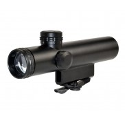 4X20MM Compact Rifle Scope with Duplex Reticle with AR Carry Handle Mount