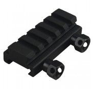 "7/16"" High 5 Slot Low-Profile  Riser Mount"