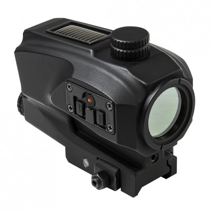Vism SPD Solar Reflex Red Dot Sight Scope With Back Up Battery