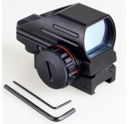 REFLEX SIGHT w/ WEAVER / PICATINNY MOUNT
