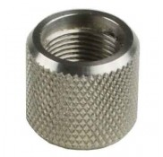 AR-15 .223 Stainless Steel Thread Protector, 1/2x28 Pitch, .750