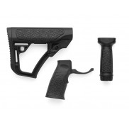 Daniel Defense AR Buttstock, Pistol Grip, & Vertical Foregrip COMBO