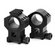 HEAVY DUTY TACTICAL HIGH SCOPE RING SET 30MM and 1""