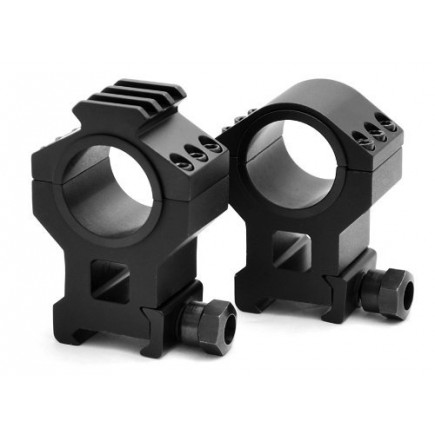 """HEAVY DUTY TACTICAL HIGH SCOPE RING SET 30MM and 1"""""""
