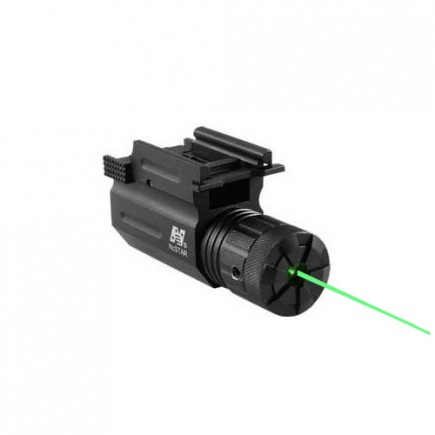 Compact Pistol and Rifle Green Laser with Quick Release Mount