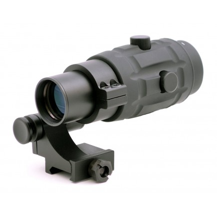 Tactical 3x Magnifier Scope with Quick Flip to Side Mount  for Red Dot Sights and EOTech Sights