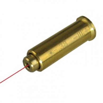 357/.38 Special Pistol Cartridge Laser Bore Sighter