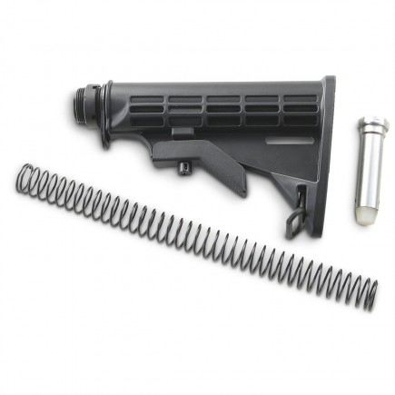 6 Position Mil-spec AR15 M4 M16 .223 Butt Stock Assembly