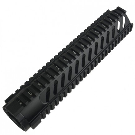 AR15 M16 Rifle Length  Free Float Quad Rail 12""