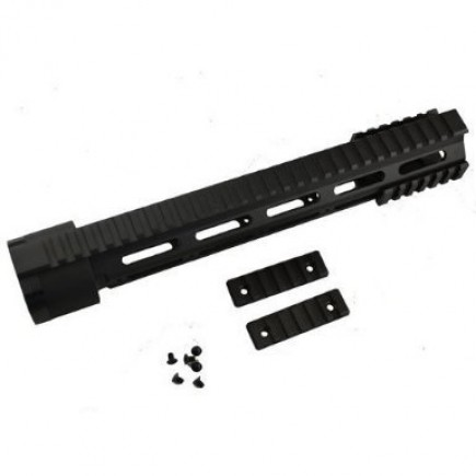 LR308 Full Rifle Length Free Float Quad Rail