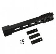 "AR-15 M4 .223 5.56 12"" Full Rifle Length Modular Free Float Quad Rail"