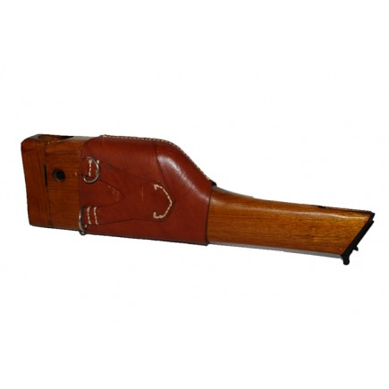 Broomhandle  C96 Bolo  Stock Holster with Leather Carrier