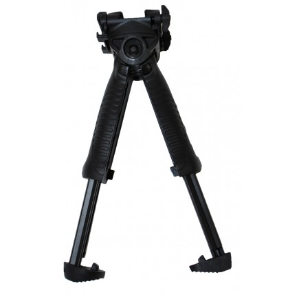 Picatinny Tactical Rotating Bipod Grip System