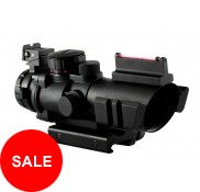 4x32 Tatical Scope with Fiber Optic Sight