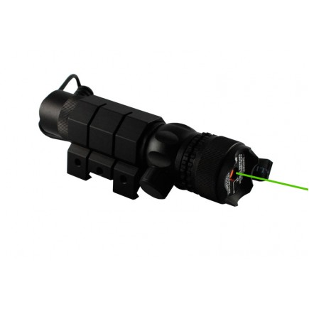 Tactical Green Laser Sight with External Adjustments