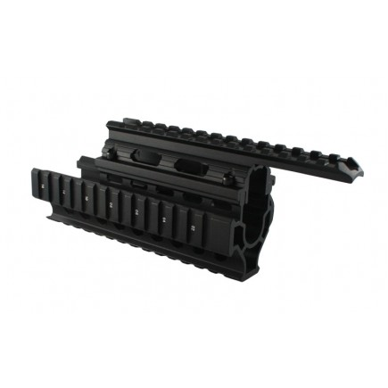 AK 47 Universal Version Tactical Quad Rail System