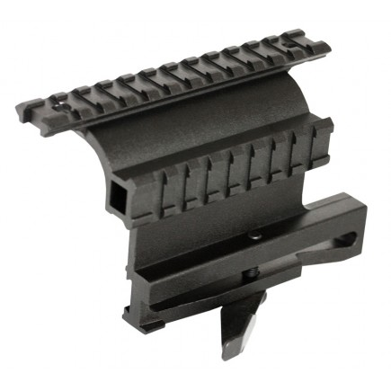 AK 47 QD Side Mount With Dural Picatinny Rail