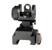 AR15 M16  DUAL APERTURE REAR FLIP UP SIGHT