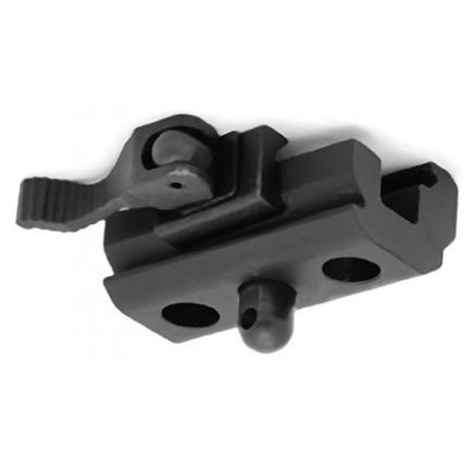QD Quick Detach Cam Lock Bipod Adapter