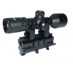 3-9X40 Compact Scope with SKS Mount