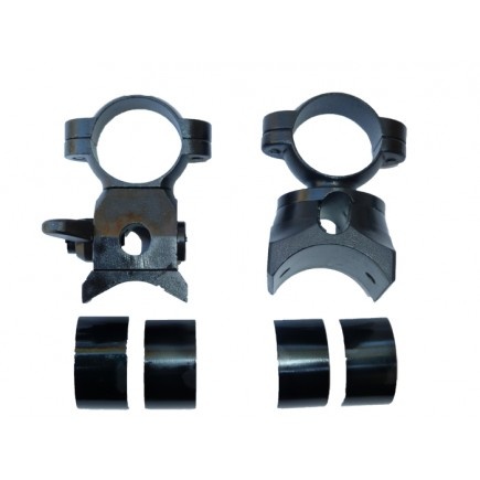 K98 Mauser Low Turret Scope Mounts With Split Rings